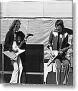Day On The Green 6-6-76 #2 Metal Print