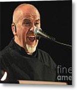 Peter Gabriel Metal Print