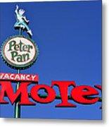 Peter Pan Motel Metal Print