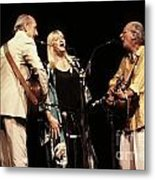 Peter Paul And Mary Metal Print