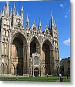 Peterborough Cathedral Metal Print