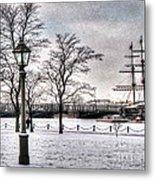 Peterburg Winter Metal Print
