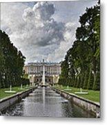 Peterhof Fountains Metal Print