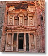 Petra Treasury Metal Print by Tony Beck