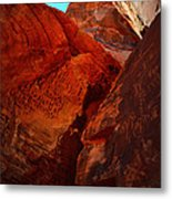Petroglyphs Valley Of Fire Nevada Metal Print