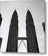Petronas Dusk Metal Print