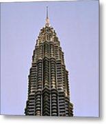 Petronas Pinnacle Metal Print