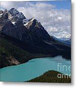 Peyto Lake Canadian Rockies Metal Print
