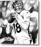 Peyton Manning Metal Print