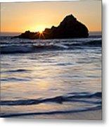 Pfeiffer Beach Sunset II Metal Print by Jenna Szerlag