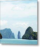 Phang Nga Archipelago Near Phuket Metal Print