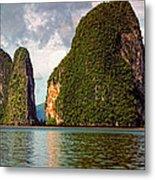 Phang Nga Bay Metal Print