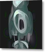 Phantasm Pastel Abstract Metal Print