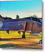 Phantom 4 Jet Vietnam Era Metal Print