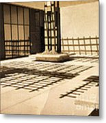 Phantom Fences2 Metal Print