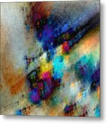 Phantom Lik Metal Print