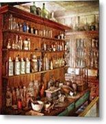 Pharmacist - Behind The Scenes  Metal Print by Mike Savad