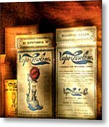 Pharmacist - Medical Cures Metal Print