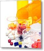 Pharmacopoeia  Metal Print