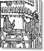 Pharmacy, 1500 Metal Print