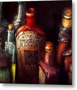 Pharmacy - A Safe Rheumatic Cure  Metal Print