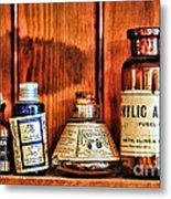 Pharmacy - Cocaine In A Bottle Metal Print