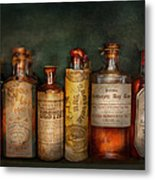 Pharmacy - Daily Remedies  Metal Print