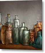 Pharmacy - Doctor I Need A Refill  Metal Print