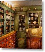 Pharmacy - Room - The Dispensary Metal Print