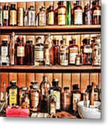 Pharmacy - The Medicine Shelf Metal Print
