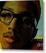 Pharrell Williams Metal Print by Marvin Blaine