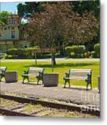 Phelps Ny Train Station Metal Print