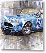 Phil Hill Ac Cobra-ford Targa Florio 1964 Metal Print