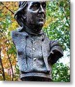 Philadelphia Benjamin Franklin Penny Bust Metal Print