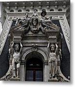 Philadelphia City Hall Dormer Window Metal Print by Bill Cannon
