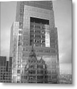 Philadelphia Comcast Building Metal Print