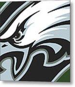 Philadelphia Eagles Football Metal Print
