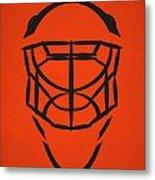 Philadelphia Flyers Goalie Mask Metal Print