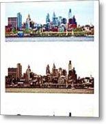 Philadelphia Four Seasons Metal Print