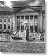 Philadelphia Franklin Museum 2 Bw Metal Print