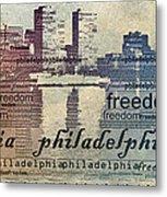 Philadelphia Freedom Metal Print