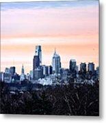 Philadelphia From Belmont Plateau Metal Print