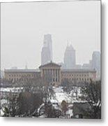 Philadelphia From Lemon Hill Metal Print