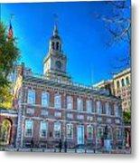 Philadelphia Independence Hall 9 Metal Print