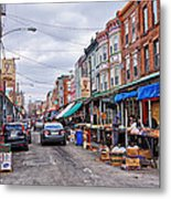 Philadelphia Italian Market 2 Metal Print