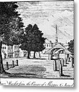 Philadelphia Market, 1788 Metal Print
