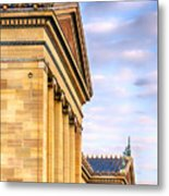 Philadelphia Museum Of Art Facade Metal Print