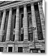 Philadelphia Museum Of Art - West Entrance Metal Print