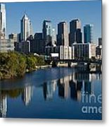 Philadelphia Pennsylvania Metal Print