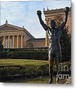 Philadelphia - Rocky  Metal Print